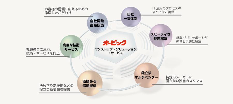 オービック ワンストップ・ソリューション・サービ... グループ経営を支える共通基盤(IT基盤・