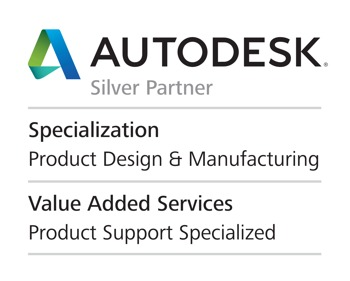 AUTO DESK Silver Partner Specialzation Product Design & Manufacturing Value Added Services Product Support Specialized